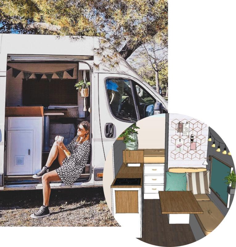 satisfacción cliente proyecto diseño camper